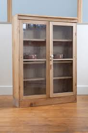pine glass display cabinet mapo house and cafeteria