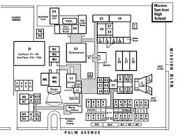 san jose school map map directions map