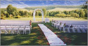 wedding ceremony layout scenic ceremony site the silo restaurant greene ny