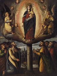 the first marian apparition in church history our lady of the pillar