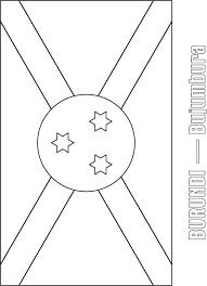 burundi flag coloring page download free burundi flag coloring