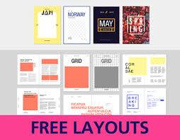 다음 behance 프로젝트 확인 u201cfree editorial layouts indesign