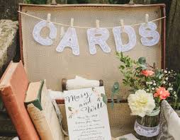 sign a wedding card sign for wedding cards box basket or suitcase