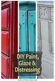 Distressing Diy by Diy Furniture Paint Glaze U0026 Distressing Facelift Furniture