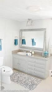 blue bathroom decor coastal inspired bathroom in light blue with a hint of sand