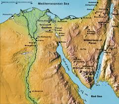 Sinai Peninsula On World Map by Color Map Egypt Sinai