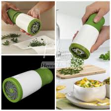 herb mill parsley shredder chopper cutter mince stainless steel