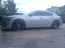 nissan maxima tire size nissan maxima custom wheels 22x et tire size 245 30 r22 x et