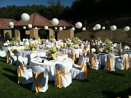 Backyard Wedding Lighting by Exterior Awesome Backyard Wedding Ceremony Backyard Wedding