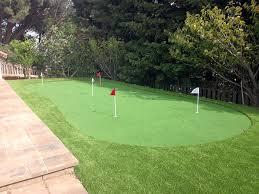 Artificial Backyard Putting Green by Synthetic Grass Sparks Texas Golf Green Backyard Makeover