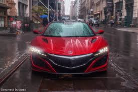 acura nsx review business insider