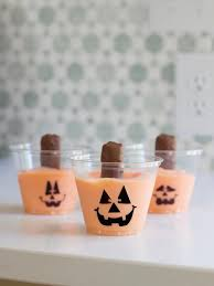 quick and easy halloween jack o u0027 snacks hgtv