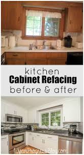 How To Reface Kitchen Cabinet Doors by Best 20 Cabinet Refacing Ideas On Pinterest Diy Cabinet