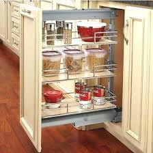 pull out cabinet organizer costco pull down cabinet shelves rootsrocks club