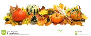 autumn decoration banner stock image image of nature 58611655
