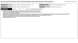 Commercial Truck Driver Resume Sample by Cdl Class A Truck Driver Resume Sample Cdl Truck Driver Cover