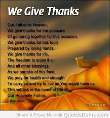 a sling of thanksgiving prayers to enrich this special day