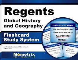 regents global history and geography exam flashcard study system