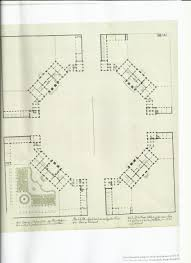 original plan of the four mansions that make up amalienborg palace