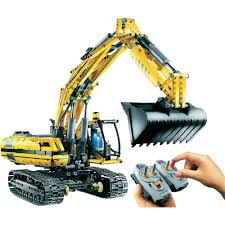 lego technic 8043 motorized excavator from conrad com