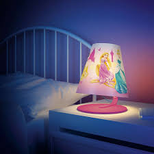 philips disney princess led bedside lamp bedding bed linen