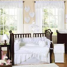 Shabby Chic White Comforter Nursery Beddings Ruffle Bedding Shabby Chic In Conjunction With