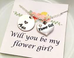 will you be my flower girl gift best 25 flower girl jewelry ideas on flower girl