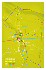 Washington Oregon Map by Oregon Cameron Booth