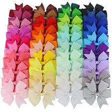 cheap hair bows mybigqueen 40pcs 3 baby hair bows for