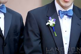 royal blue boutonniere royal blue summer wedding at the four seasons philadelphia