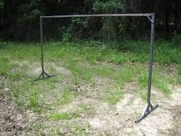 diy steel hammock stand hammock forums elevate your
