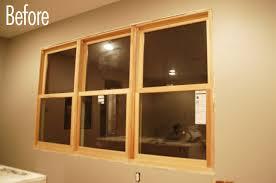 How To Trim Windows Interior How To Create Unique Rustic Window Trim Curbly
