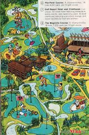 walt disney resort map golf resort at disney imaginerding