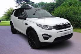 land rover discovery sport white used 2016 land rover discovery sport 2 0 td4 180 hse black 5dr