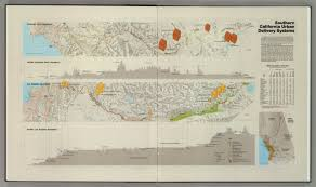 Los Angeles Aqueduct Map by Southern California Urban Delivery Systems David Rumsey