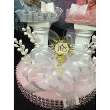 first holy communion table centerpieces holy communion praying and boy centerpiece
