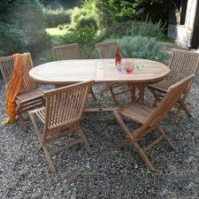 Teak Garden Table 6 Seater Oval Teak Garden Furniture Set Internet Gardener