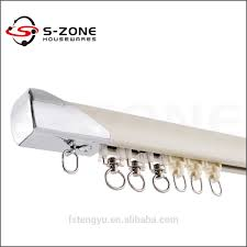 Heavy Duty Flexible Curtain Track by Wall Mount Double Curtain Track Hospital Swiss Curtain Tracks