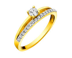 pierscionki apart złoty pierścionek wzór p 996 01 apart engagemend ring