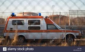 volvo van modified old volvo ambulance stock photo royalty free image