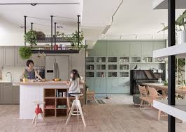 living with plants a family apartment in taiwan gardenista