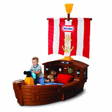 little tikes pirate ship toddler bed toys