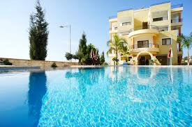 Master Bedroom During Everything Emelia by Emelia Suite 2 Bed Holiday Apartment Paphos Cyprus