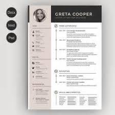 Creative Resume Word Templates Free 19 Creative Resume Word Templates Free The Best Cv Amp Resume
