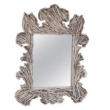 florentine driftwood mirror u2013 laurier blanc unique home decor