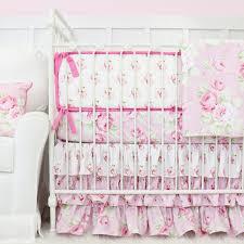 Ruffle Bedding Shabby Chic by Shabby Chic Roses Ruffle Baby Beddling Caden Lane