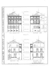 blueprint of a mansion the collins c diboll vieux carré survey property info