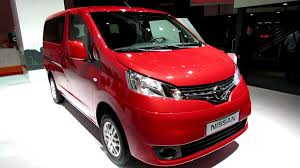 red nissan 2012 2013 nissan nv200 evalia exterior and interior walkaround 2012