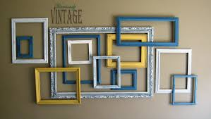 Picture Frame Wall by Ansley Designs 3d Layered Picture Frame Art