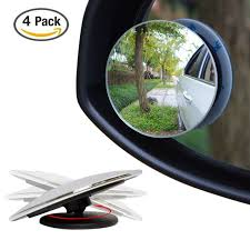 Mirrors For Blind Spots On Cars 4 Pack Upgrade 2 U0027 Blind Spot Mirrors Ampper 360 Rotate 30